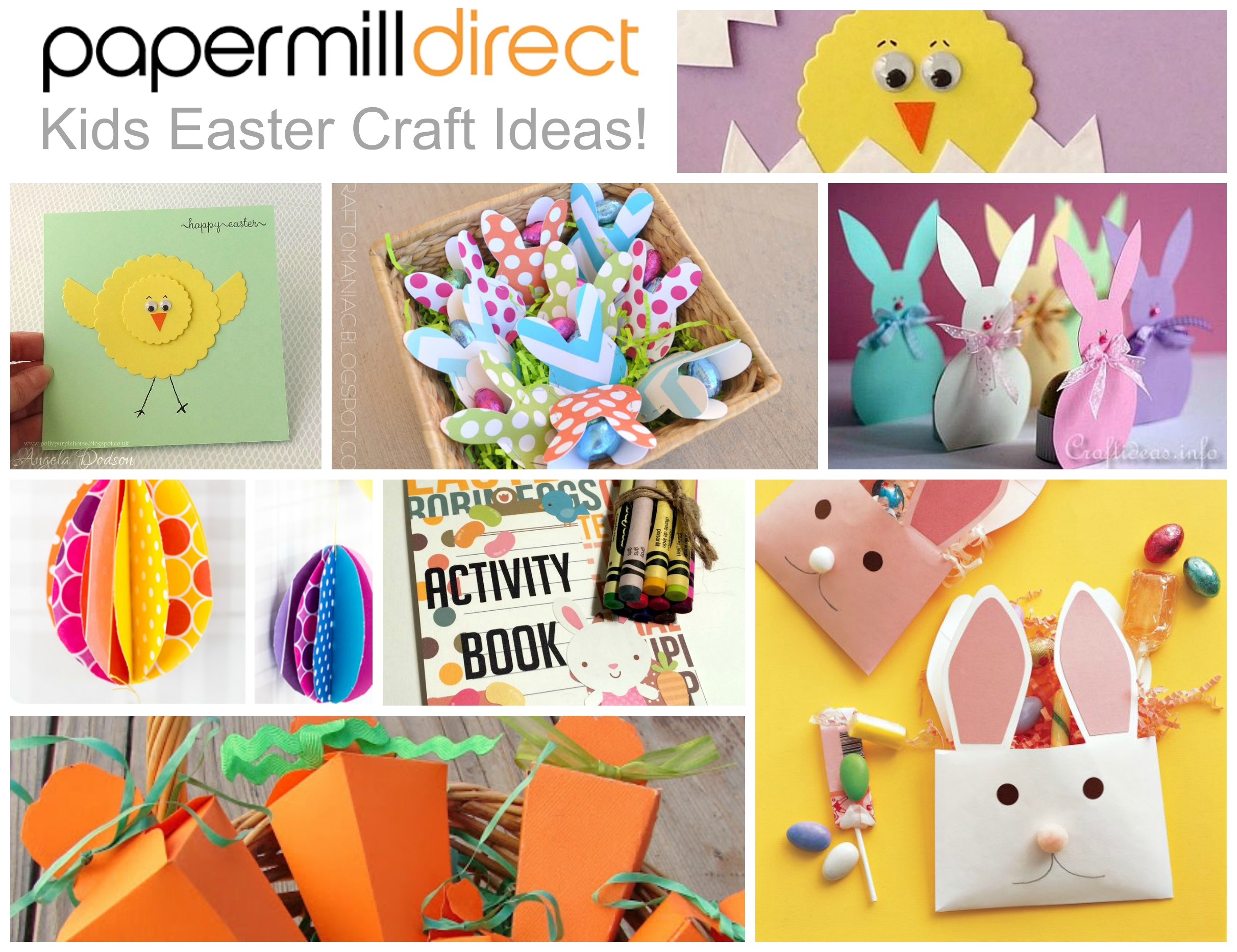 Kids easter crafts to make papermilldirect for Easter craft ideas to sell