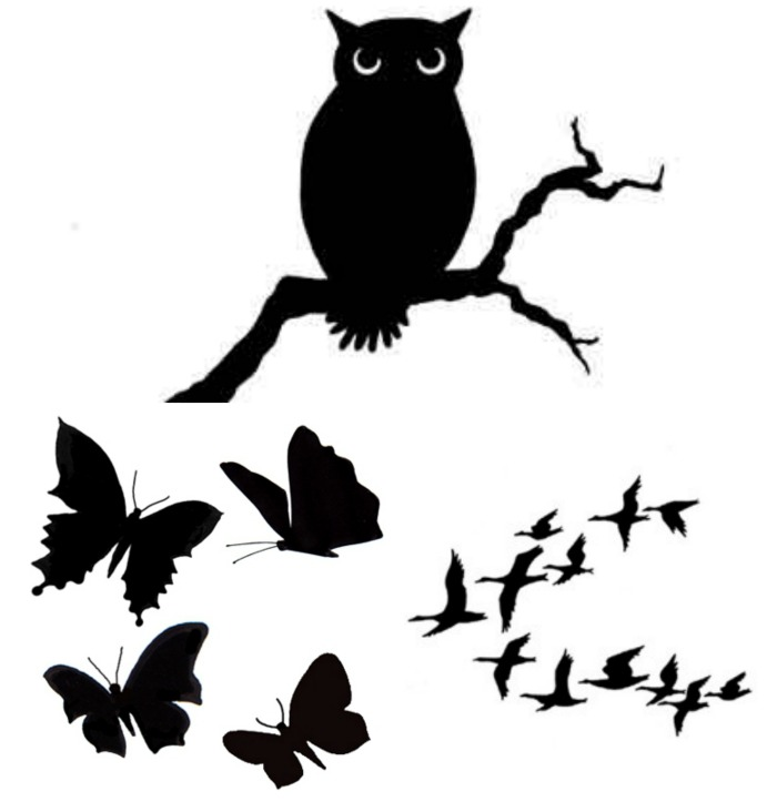 lavinia rubber stamps birds and butterflies