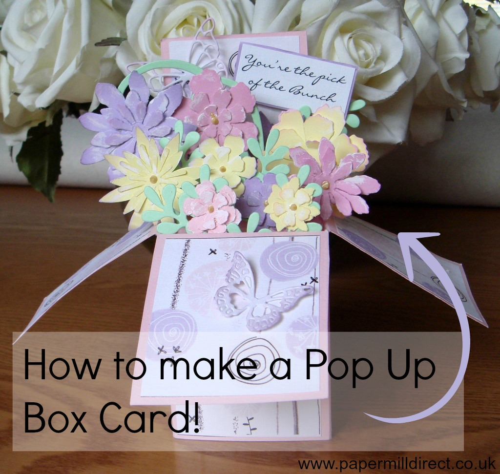 How To Make A Pop Up Card The Guide To Box Cards Papermilldirect