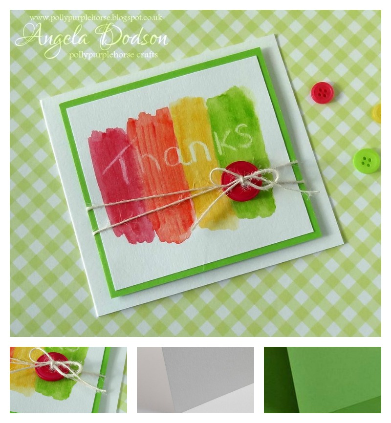 Project Simple Thank You Card For Kids To Make