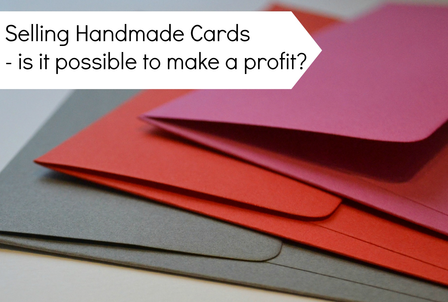 Is it possible to make a profit selling handmade cards selling handmade cards m4hsunfo