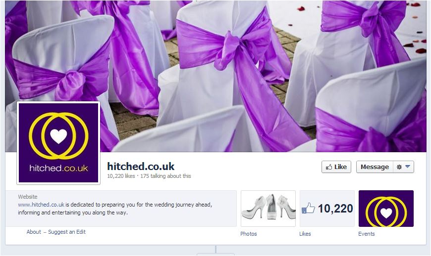 wedding fairs facebook pages