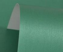 Xmas Green Lustre Print Silver Card 300gsm