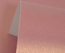 Violet Lustre Print Gold Card 300gsm