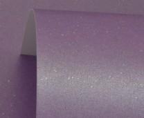 Periwinkle Sparkle Print Card 300gsm