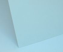 Sky Blue Plain Card