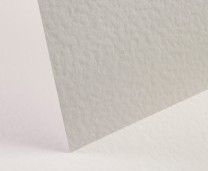 White Card Hammered - Set Swatch
