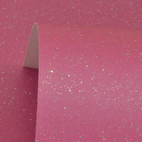 Brilliant Rose Sparkle Print Card 300gsm