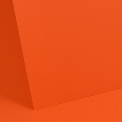 Deep Orange Plain Paper 80gsm