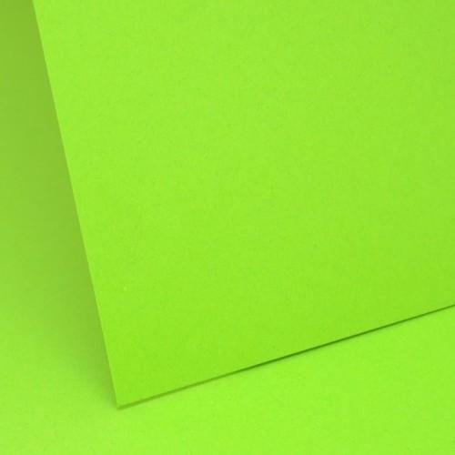 Intensive Green Plain Card