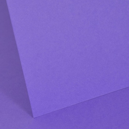 Intensive Lilac Plain Card