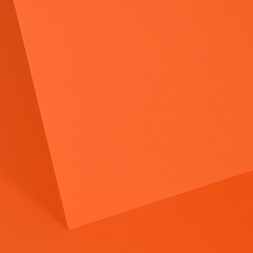 Intensive Orange Plain Card