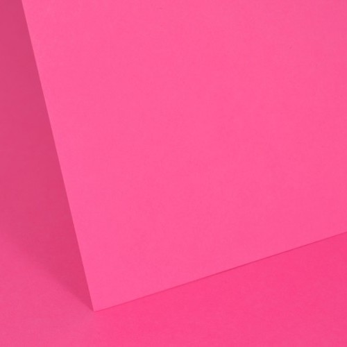 Intensive Pink Plain Card