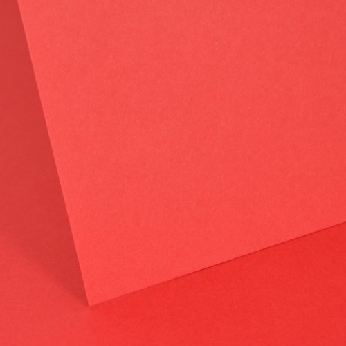 Intensive Red Plain Card