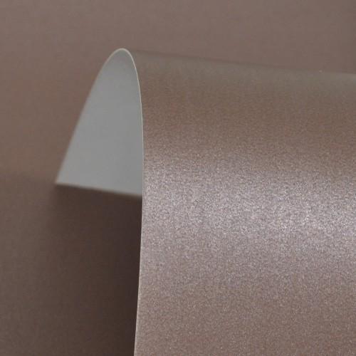 Bon Bon Lustre Print Silver Paper 100gsm