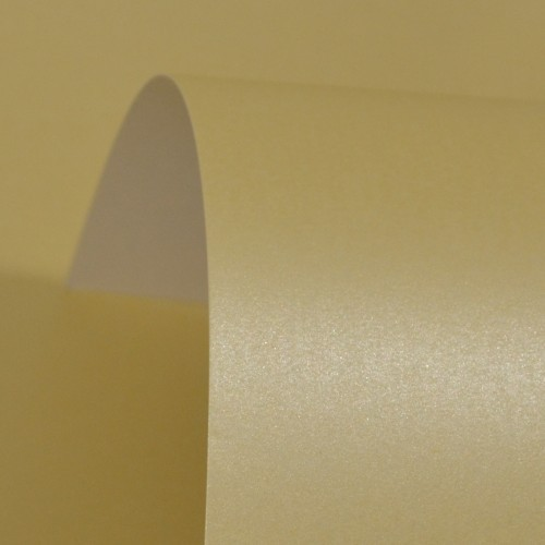Cream Lustre Print Silver Paper 100gsm