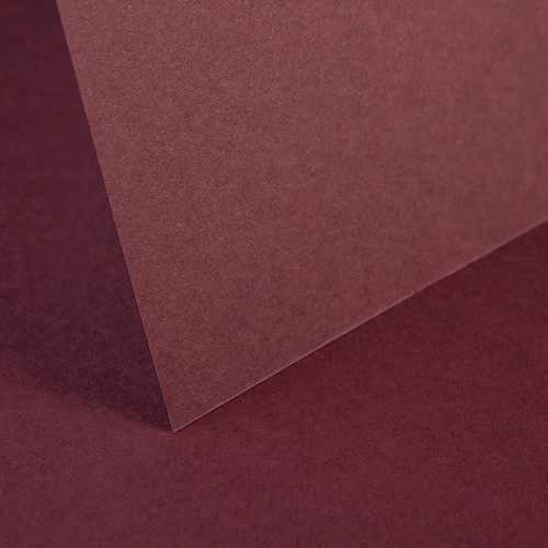 Maroon Smooth Card - Set Swatch