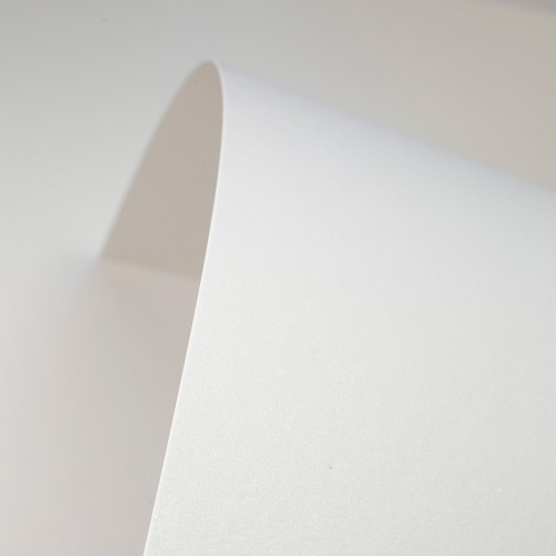 Natural White Card Pearlised - Set Swatch