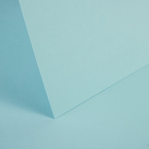 Pale Turquoise Plain Card - Set Swatch