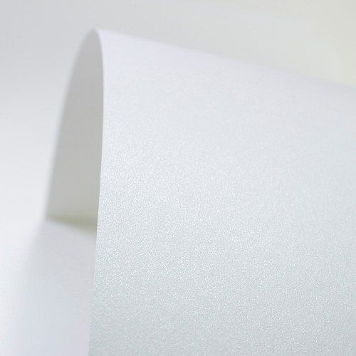 Ultra White Paper Pearlised - Set Swatch